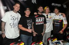 Tonight is your chance to meet your favorite Suzuki Supercross riders! Ricky Carmichael, Josh Hill, Carey Hart, and James Stewart will be signing autographs from 6-730pm at Motorcycle Mall Inc. Stop by for food, drinks, autographs, and to support the team! RSVP:  https://www.facebook.com/events/1411039219157160/