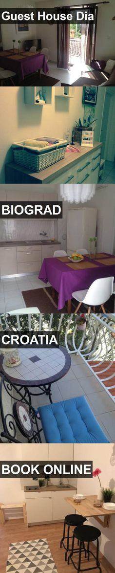 Guest House Dia in Biograd, Croatia. For more information, photos, reviews and best prices please follow the link. #Croatia #Biograd #travel #vacation #guesthouse