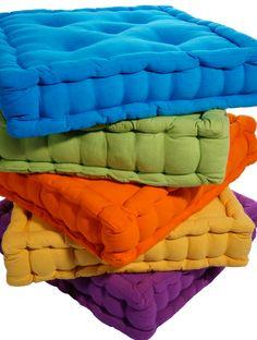 cuscino mattonella pratico comodo e colorato!