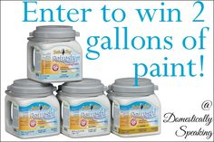 This week's Power of Paint Party has started & you can enter to win 2 gallons of paint!