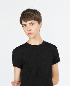 изображение 4 из ЖАККАРДОВОЕ ПЛАТЬЕ от Zara