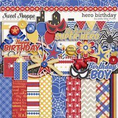 Hero Birthday by Jady Day Studio
