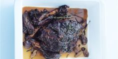 Try this Slow-Cooked Balsamic and Garlic Lamb recipe by Chef Donna Hay. This recipe is from the show Donna Hay – Fast, Fresh, Simple. Lamb Recipes, Meat Recipes, Cooking Recipes, Healthy Recipes, Savoury Recipes, Slow Cooking, Cooking Ideas, Yummy Recipes, Dinner Recipes
