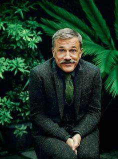 "betweenartandcomfort: "" Christoph Waltz in Gieves & Hawkes. Source: esquire.co.uk """