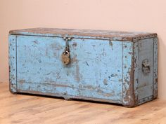 View our  Vintage Blue Engineer's Tool Chest from the  For The Home collection