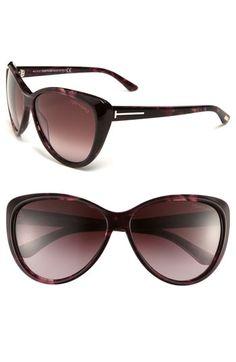 Tom Ford Cat's Eye Sunglasses in Violet