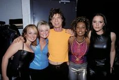 Mick and the Spice Girls