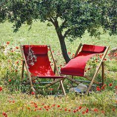 #design3000 Mit original italienischer Authentizität besticht dieser Liegestuhl der Kollektion Elle.