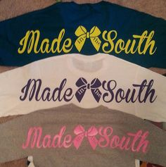 Made In The South TShirt by AccuDzignz on Etsy, $22.00