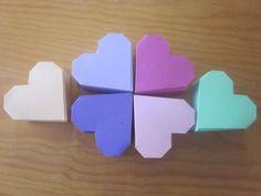 Explicación de como hecernos una caja de regalo en forma de corazón 3 | Aprender manualidades es facilisimo.com