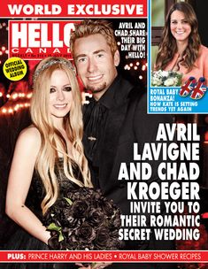 Avril Lavigne and Chad Kroeger get married