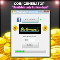 Slotomania Cheat || Free Coin Generator! Sweet! I just got a slotomania coin generator at survey tools.us/coins