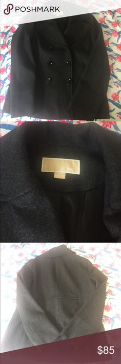 Michael Kors peacoat Worn once and in perfect condition! Michael Kors Jackets & Coats Pea Coats