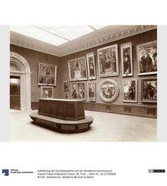 Aufstellung der Gemäldegalerie und der Skulpturensammlung im Kaiser-Friedrich-Museum, Raum 38, Florentinische Gemälde des 15. Jhd.