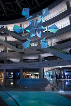 Snowflake Sculpture – Time Square Seoul by Moritz Waldemeyer