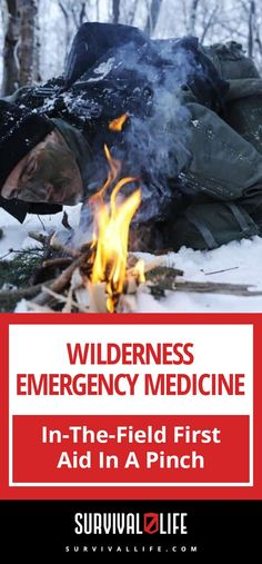 Wilderness emergency medicine is a survival skill you definitely should learn. The importance of knowing first aid protocol cant be underscored enough. Survival Weapons, Survival Life, Homestead Survival, Survival Food, Wilderness Survival, Camping Survival, Outdoor Survival, Survival Prepping, Emergency Preparedness