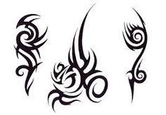 simple tribal tattoo designs - Google Search