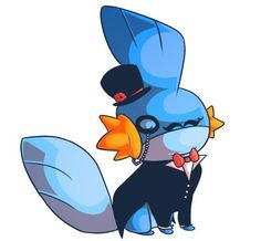 Mudkip, number 17 fav pokemon!<<< This is my favorite Pokemon