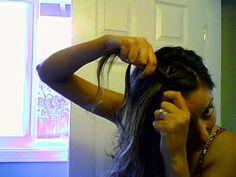 Bohemian Braided Hairstyle Tutoral,So EASY!!