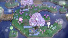 Animal Crossing Wild World, Animal Crossing Guide, Animal Crossing Villagers, Animal Crossing Pocket Camp, Pond Animals, Cute Animals, Kawaii Island, Pink Island, Nintendo Switch