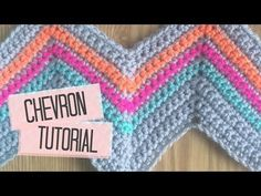 CROCHET: How to get straight edges on chevron blanket | Bella Coco - YouTube