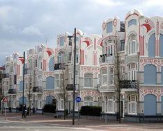 Art Nouveau - Vlissingen, Zeeland the Netherlands