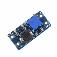 MT3608 2A Max DC-DC Step Up Power Module Booster Power Module    Product Description:    1. The maximum output current: 2A    2. The input voltage: 2V and 24V    3. The maximum output voltage: > 5V – 28V    4. Efficiency: > 93%    5. Size: 37.2*17.2mm    Product Introduction:    1. The input voltage should not exceed the maximum input voltage    2. The peak current and output current is not more than 2A    3. When a module, to adjust output voltage can't always equals the input voltage…