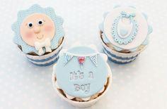 Baby boy cupcakes tutorial