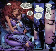 starfire and nightwing comics | ahhh mar i starfire and nightwing s daughter i wish little mar i could ...