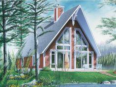 A Frame House Plan, my favorite
