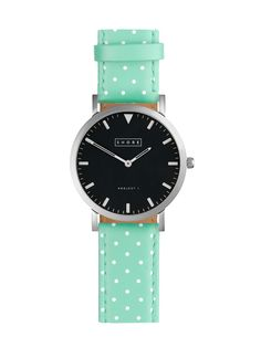 polka dot watch strap