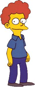 """Rod Flanders from """"The Simpsons"""""""
