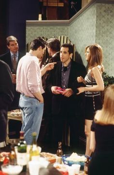 Ben Stiller – Ben Stiller appeared as Rachel's date who angrily yells at everyone