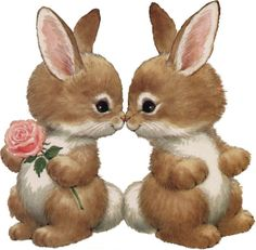 Pinned by sherry decker Bunny Art, Cute Bunny, Cute Images, Cute Pictures, Ostern Wallpaper, Easter Bunny Pictures, Bunny Images, Lapin Art, Vintage Greeting Cards