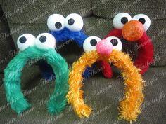 Sesame street headbands