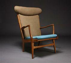 Lot: 3283753 Hans J. Wegner. Easy chair, model AP-15