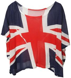 I'm in love with Union Jack print right  now!