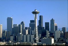Seattle Photo Gallery: Seattle Skyline with Space Needle