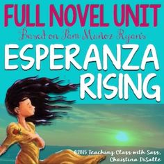 This teaching unit covers the novel, Esperanza Rising, by Pam Muoz Ryan. Empower your students to access higher-level thinking skills and explore an infamous time in history with this unit. Christina DiSallehttps://www.teacherspayteachers.com/Store/Christina-Disalle***Items Included***-Guided Reading Bookmarks (1 page)---Inspire your students to make connections as they read!-Teaching Unit PowerPoint (90 pages)---[RL.1, RL.2, RL.5, RL.9, SL.5] Theme Lesson---[RL.3] Characterization…