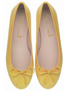 Pretty Ballerinas MARILYN YELLOW LIZARD PRINTED LEATHER €129.00