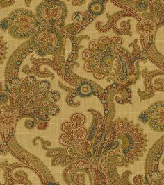 Home Decor Fabric-Waverly Old World Charm Hidden Treasure Gem