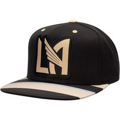 627c2c4b8ddd9 Men s LAFC Mitchell   Ness Black Diamond Adjustable Snapback Hat