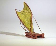 Statek melanezyjski mikromodel 1:500 http://mojeminiatury.waw.pl/statek-melanezyjski-1500/