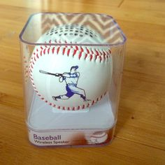 Brand-new baseball Bluetooth speaker Bluetooth speaker brand-new in its case. All components are included Accessories