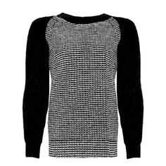 Fairtrade contrast arm knit (from fashion-conscience)