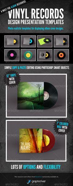 Vinyl Record Album Mock-Ups Download here; https://graphicriver.net/item/vinyl-record-album-mockups/541998?ref=KlitVogli