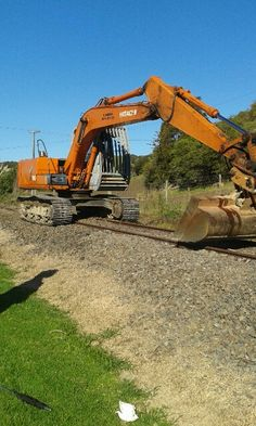 Pulling and straightening the rail lines at Awakeri Rail Adventures in sunny Whakatane New Zealand Self Driving, Outdoor Gear, New Zealand, Sunnies, Tent, Adventure, Park, Store, Sunglasses
