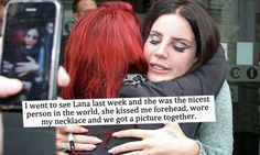 Lana Del Rey and a fan #LDR #quotes