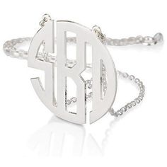 Block Monogram Necklace - .925 Sterling Silver #ad #commissionlink