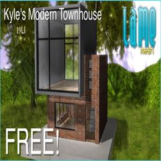 THIRD LIFE [ Frees, Gifts & Hunts ]: LAME MESH - KYLES MODERN TOWNHOUSE